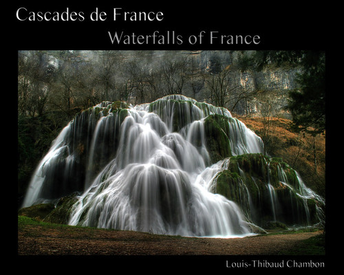 A book: Waterfalls of France