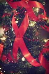 World AIDS Day Christmas Tree