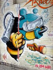 Bronx Graffiti (LoisInWonderland) Tags: streetart graffiti bronx urbanart