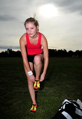 Emma Athletic - preparing (beeater) Tags: athletics models emma nike beautifulwomen preparation sportygirls australianmodels canberramodels femaleathletics womeninsport emmamodel modelmayhem721380 blondeathletes sportywomen