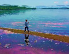 Peter going fishing
