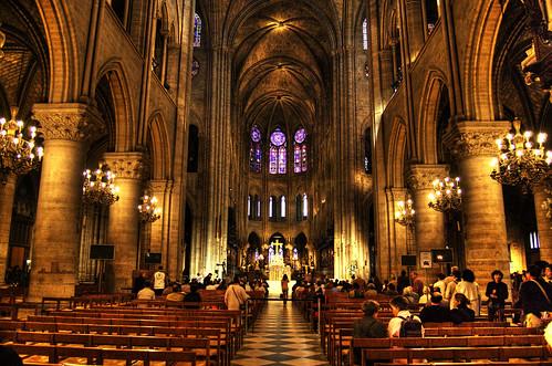 Notre Dame de Paris HDR