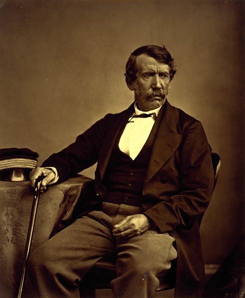 David Livingstone 1813 - 1873 Missionary and explorer by National Galleries of Scotland Commons