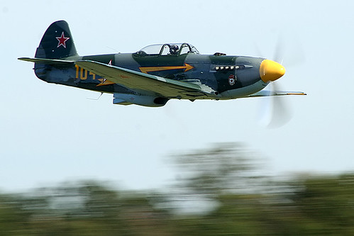 Warbird picture - Sean Carroll - Yak 9