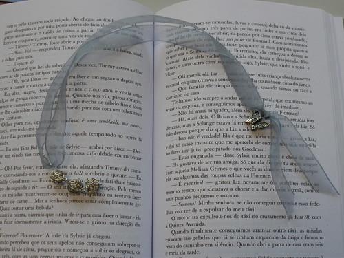 Marcador de livros cinza by tulipaeu.