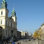 Warsaw: Krakowskie Przedmiescie Street