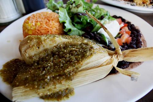 Vegetarian Tamale 2