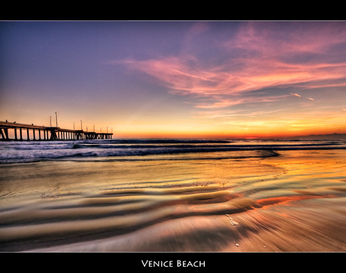 Venice Beach Sunset by szeke (busy).