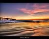 Venice Beach Sunset (szeke) Tags: ocean venice sunset beach water clouds landscape pier sand venicebeach hdr photomatix flickrsbest anawesomeshot amazingamateur multimegashot theartlair daarklands