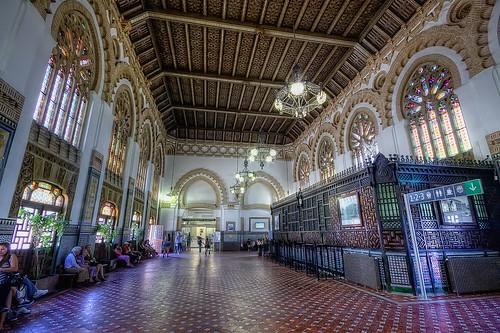 Interior Estación AVE Toledo