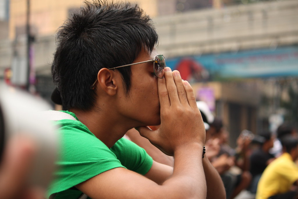 thinking his future