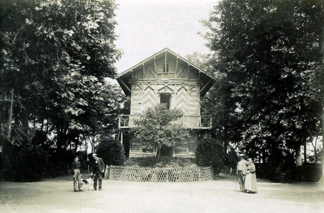 Casa de Corcho del Paseo de Merchán o de la Vega en junio de 1905. Fotógrafo anónimo. Colección Luis Alba. Ayuntamiento de Toledo