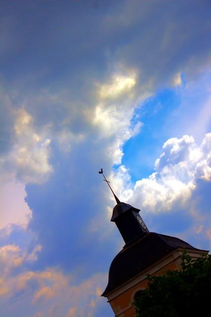 Clocher de l'église de Tanlay