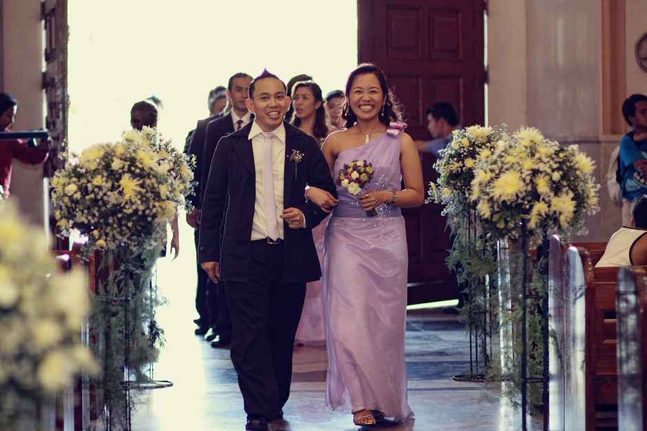 Cebu Wedding, Cebu Cathedral Philippines