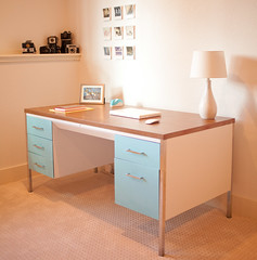 new desk- i'm so glad it's finished. (vanessa weber) Tags: purdy