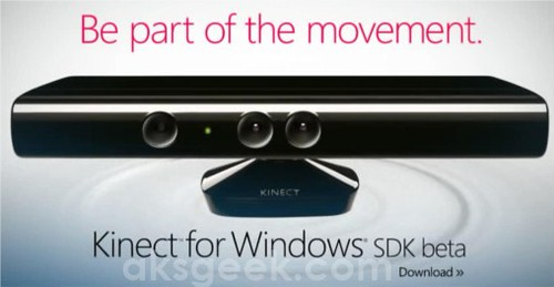 Kinect for Windows SDK Beta