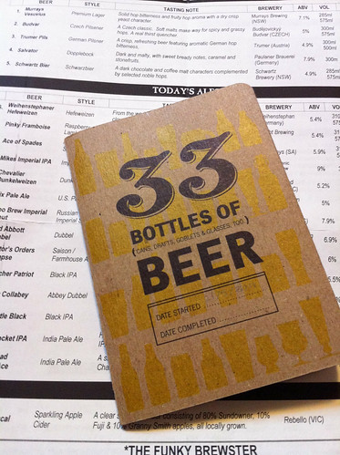 33 Bottles of Beer notebook