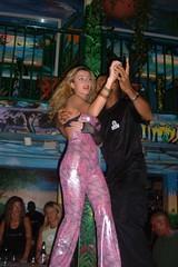 Couple Dancing at Mango's (Kevin Borland) Tags: ocean usa bar drive couple unitedstates dancing florida south nightclub northamerica nightlife miamibeach southbeach danceclub southernunitedstates mangostropicalcafe cubandance 900oceandrive