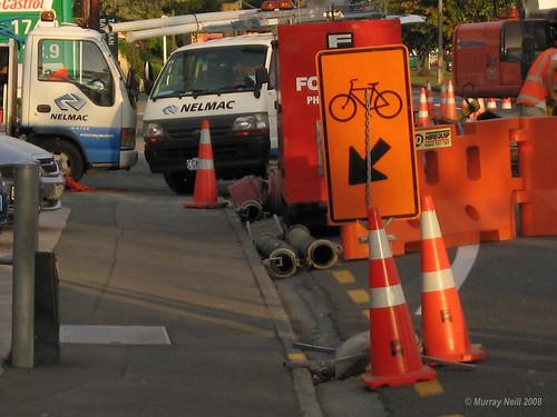 Haven Road Cyclist Trap