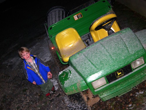 "Liam loved the ""gator"""