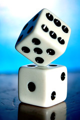 Balance Test (Photoshoparama - Dan) Tags: dice macro die games stack dies 123456 macromondays johnsongraphics photoshoparama danielejohnson dsc1195 crossroadonecom