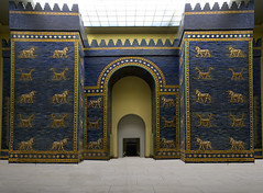 Pergamon Museum - Ishtar Gate PMGI_PSD (youngrobv) Tags: berlin brick archaeology dedication composite museum facade germany tile deutschland nikon gate europa europe european bricks relief tiles german arabian d200 psd popular bel cuneiform babylon ishtar inscription glazed pergamon assyrian babylonian marduk polychrome ishtargate archaeologist nebuchadnezzar museumisland 0802 adad ramman ishkur 18200mmf3556gvr thunderer weathergod polychromed nebuchadnezzarii museeinsel youngrobv  stormgod  pmgipsd babishtar robertkoldewey