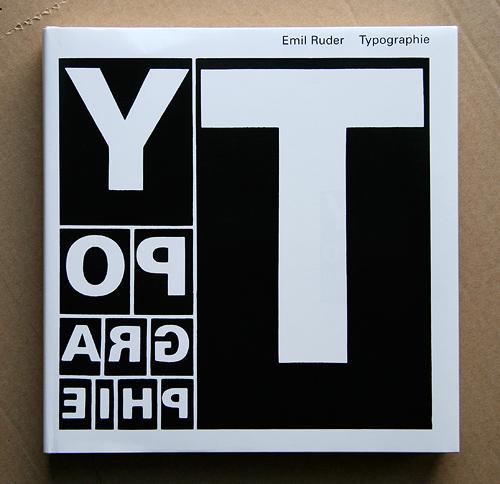 Emil Ruder's Typographie