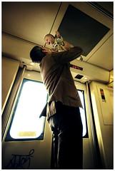 Yo siempre estar aqu (Ibai Acevedo) Tags: barcelona life light portrait sun color colour love sol yellow train daddy tren kid retrato amor live father bcn son vida felicidad feeling feliz padre nio hijo happyness sentimiento vivir sensacin emocin porloqueluchar