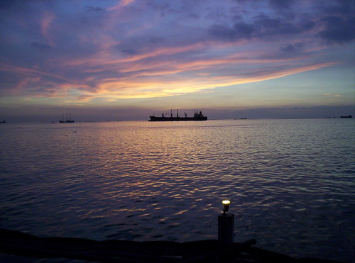 Manila bay sunset : 1