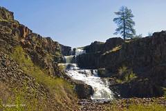 Hog Canyon Falls II (jimgspokane) Tags: water waterfalls creeks supershot onlythebestare naturewatcher