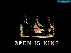 Open is King