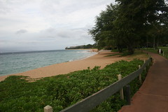 Pathway at Kahekili Beach
