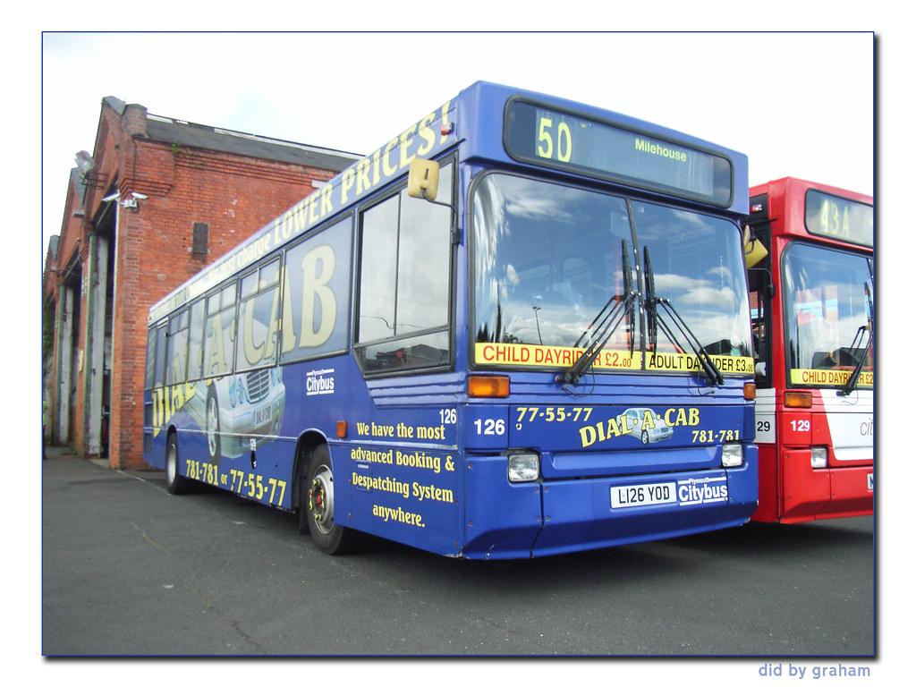 x Plymouth Citybus 126 L126YOD (WDN)
