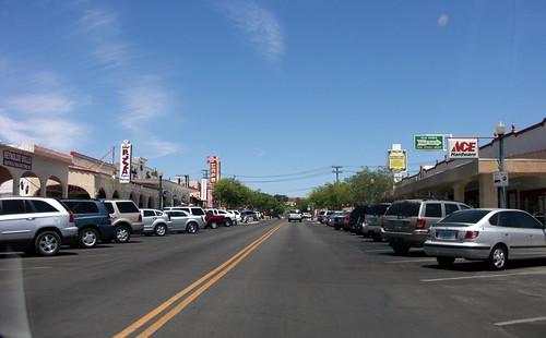 Downtown Boulder City