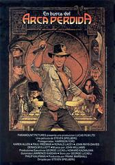 Poster Indiana Jones En Busca del Arca Perdida Steven Spielberg