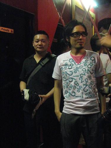 Kikuchi san is designer  &  Yutaka  from Doing Panda