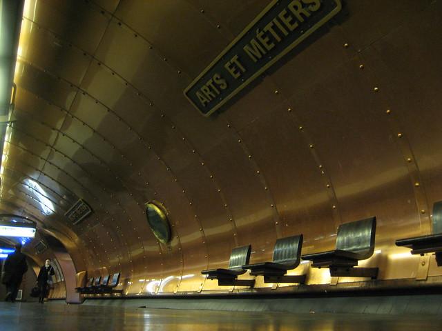 Arts et Métiers métro station