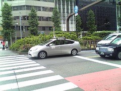Google car in JAPAN
