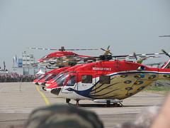 Start: Hubschrauberstaffel 'Sarang'