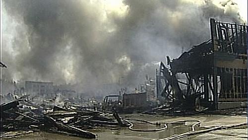 Universal Studios luego del incendio
