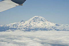 Rainier from Alaska Air 120