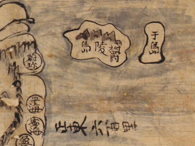 Map of Korea (1800s?)