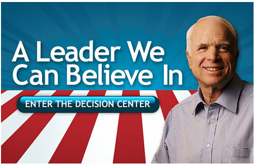 John McCain, Get Your Own Damned Slogan!