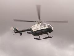 Helicoptero despegando
