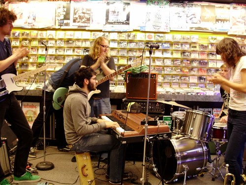 Mt. Royal live! in-store performance at Music Trader on June 11 2008