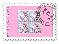 PINK SATURDAY STAMP