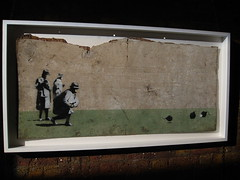 Banksy 'Bombing Middle England' (Romany WG) Tags: streetart sale auction banksy urbanart neate dreweatts