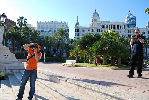 Fer y Ferrán en el Puerto de Alicante