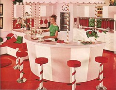 Wacky Themed Kitchen (JAVA1888) Tags: kitchen vintage retro 1960s houseandgarden 1961