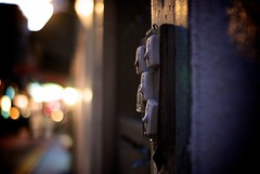 turn on the night (0bli0) Tags: leica old light switch hongkong bokeh m8 beautyis voigtlandernokton35mmf12aspherical